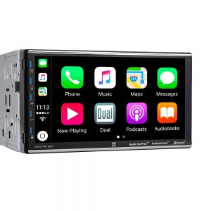 Dual 7″ Double Din Mechless Digital Media Receiver